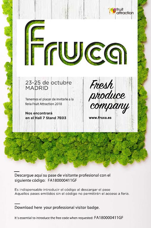 Feria fruitattraction 2018