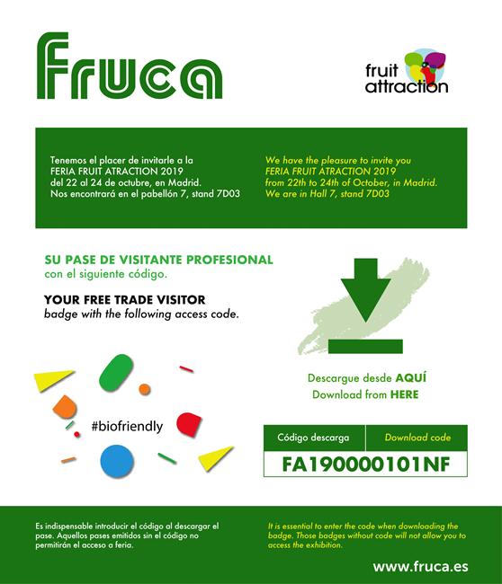 Feria fruitattraction 2019