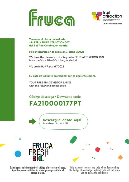 Feria fruitattraction 2021